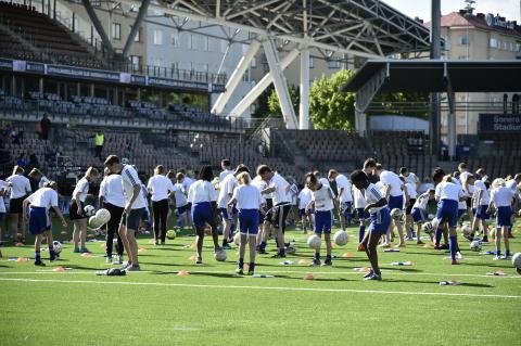 Ponnauttelun ryhmäennätyksellä tehtiin suomalaista jalkapallohistoriaa