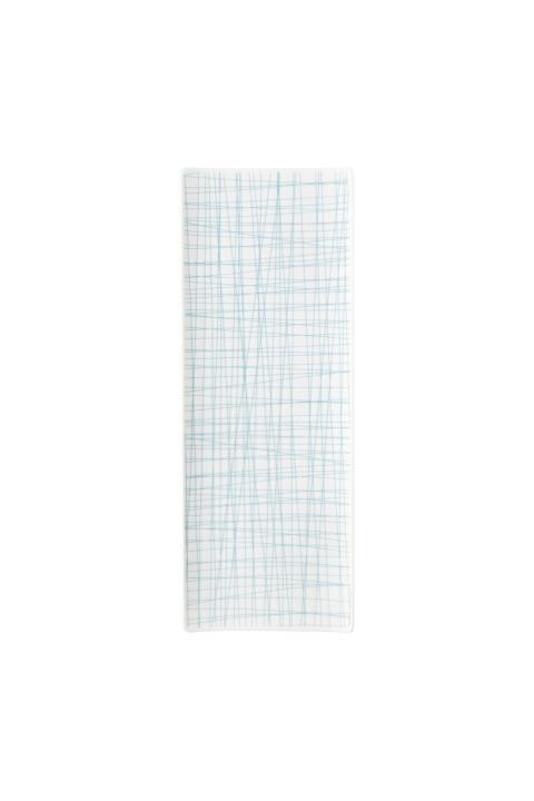R_Mesh_Line Aqua_Platter flat 34 x 13 cm