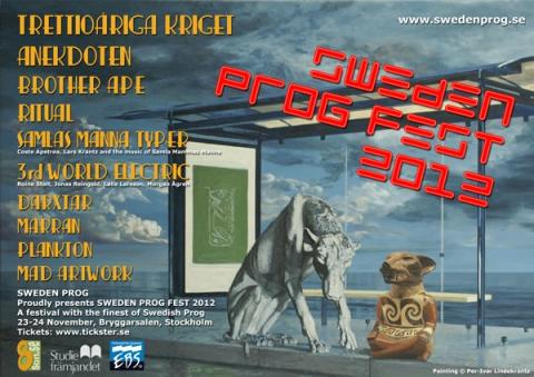 SWEDEN PROG FEST 2012