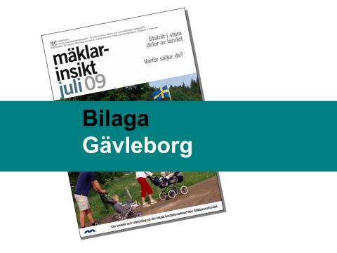 Gävleborgs län: Stabil bostadsmarknad i Gävleborgs län