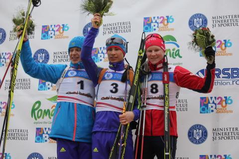 Harald Øygard, pallen, jaktstart menn ungdom, junior-VM