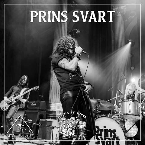 Prins Svart - släpper nytt och gästar Bring it home 2020!