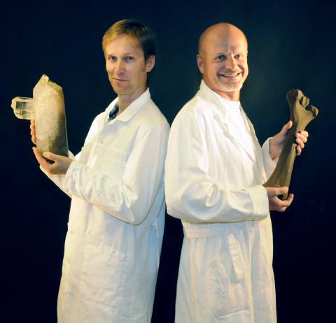 Geologins dag - Dr. Ben och Dr. Sten
