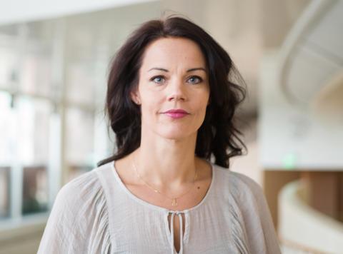 Veronica Palm ny styrelseordförande i föreningen Alla Kvinnors Hus