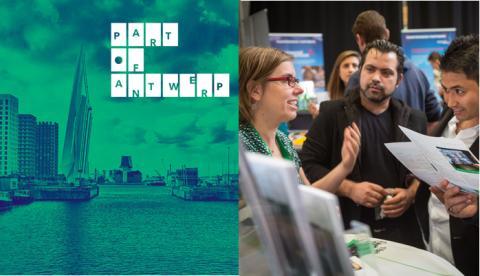 Talentenstroom en  Talentenfabriek | Jobbeurs Part of Antwerp voor logistiek en techniek