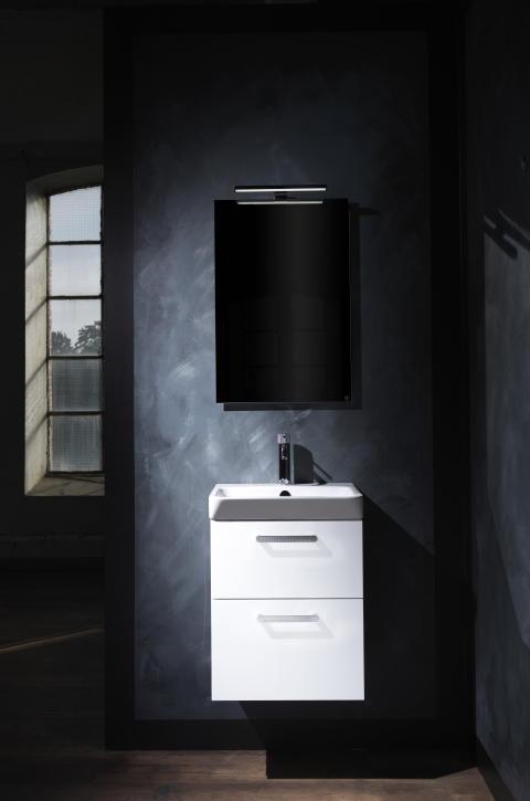 Macro_Design_Crown_450_Vit_Plain_Porslin_70_Spegel_Belysningsarm