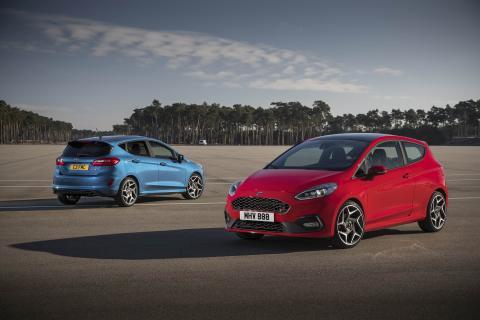 Täysin uuteen Ford Fiesta ST -malliin on saatavissa tasauspyörästön lukko ja ylivoimaisen ajodynamiikan mahdollistavaa patentoitua teknologiaa