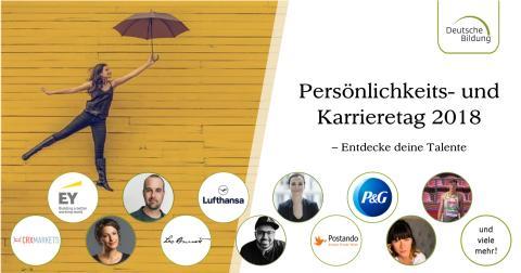 Persönlichkeits- & Karrieretag 2018, Frankfurt