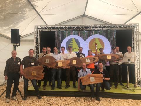 Vinnare SkogsElmia Innovation Award 2019