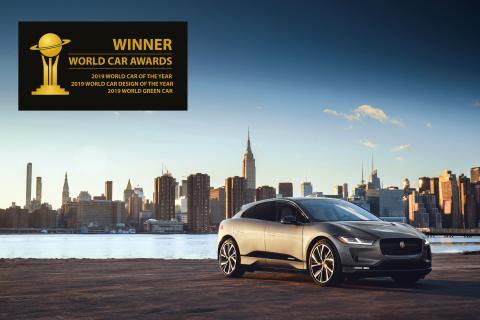 Jaguar I-PACE tar storeslem og vinner World Car of the Year