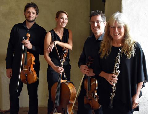 Camerata Nordica Quartet möter oboisten Anette Kumlin från Scenkonst Sörmland