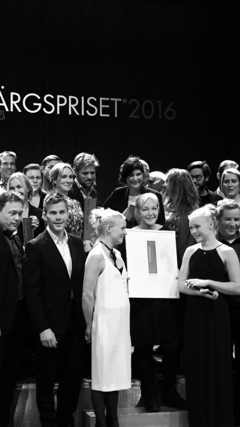 Prisutdelning Rödfärgspriset 2016