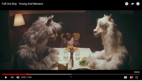Music group falls out with puppet company for overusing llama puppets