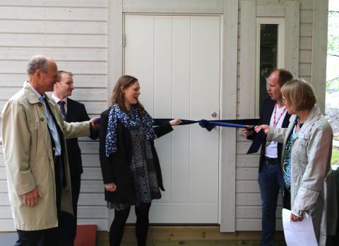 Projektinvigning  i Solna