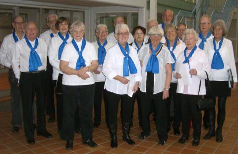 PRO Kören uppträder på Mångkulturellt café i Kallinge den 11 februrai 2017