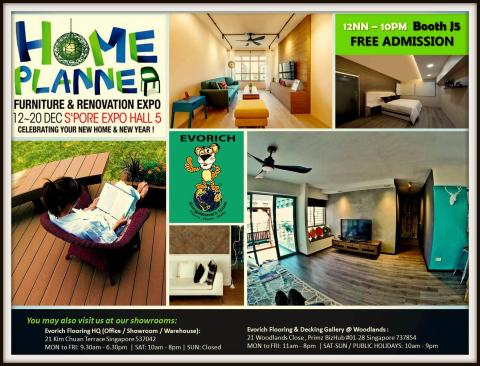 Evorich at the Home Planner Furniture and Renovation Expo