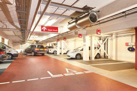 Q-Park UK brings Soho parking into the new age
