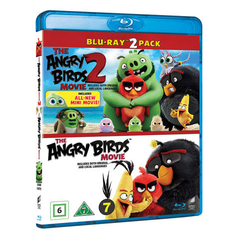 The Angry Birds 1-2 Box, Blu-ray