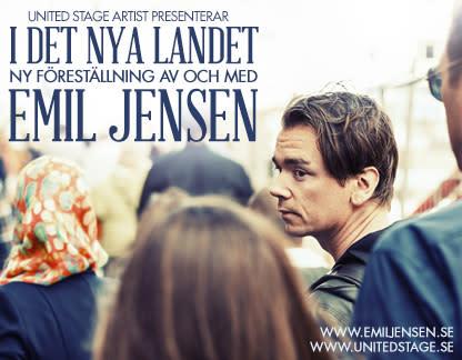 Emil Jensens succéturné fortsätter med 15 nya datum i vår