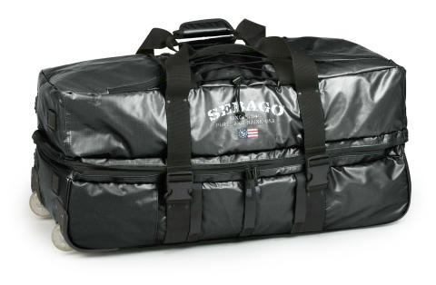 Sebago Roll Wheely Bag Black