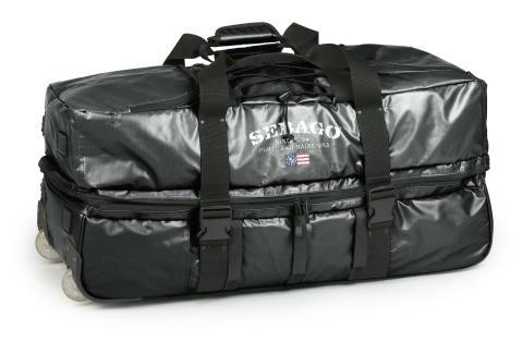 Sebago Roll Wheely Bag Black
