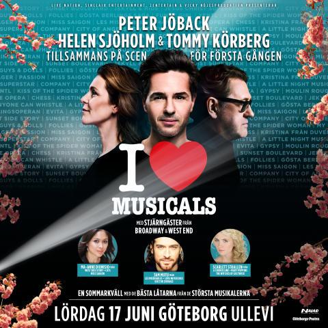 Stjärnsolister från Broadway och West End klara för världens största musikalkonsert på Ullevi