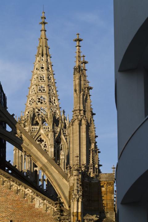 Münster-kirchen i Ulm, Tyskland