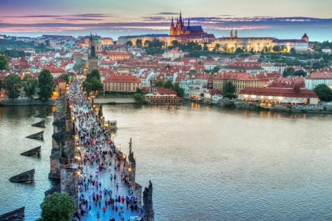 Prague revealed as best value city break for culture vultures