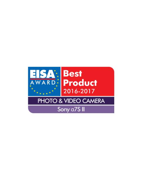 EUROPEAN PHOTO & VIDEO CAMERA 2016-2017 - Sony Alpha 7S II.AI