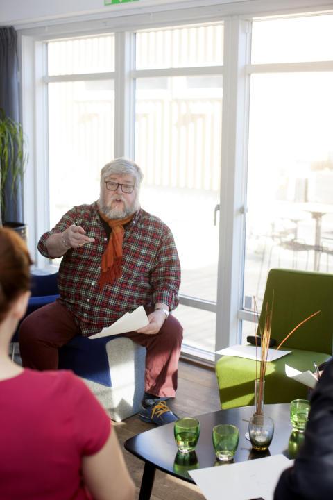 Ordförande i Årets Sill-juryn Peter Harrysson