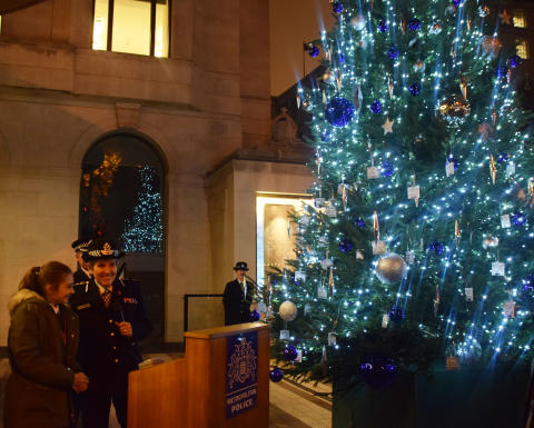 Launching the Met's Christmas Tree Project