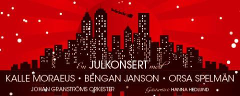 Ny julshow med Kalle Moraeus och Bengan Janson