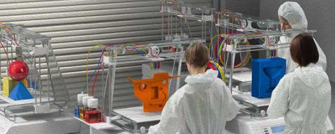 3D-skrivare öppnar för nytt företagande