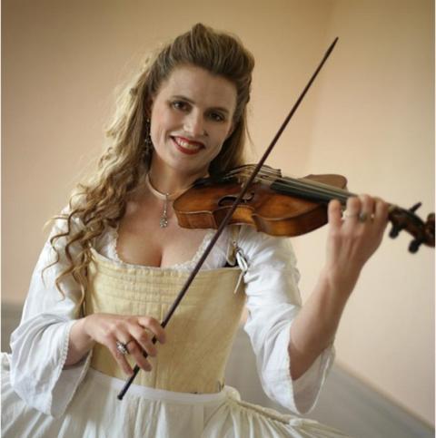 """Ulrika Westerberg - en av världens främsta barockviolinister och musikalisk ledare för Helt Barockt och """"Den Magiska klockan"""""""