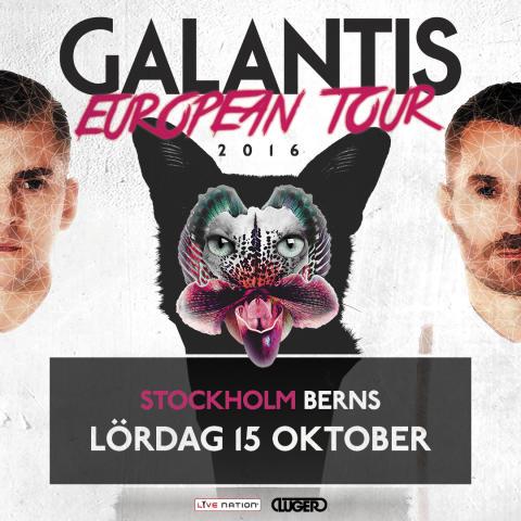 Galantis intar Berns i Stockholm den 15 oktober