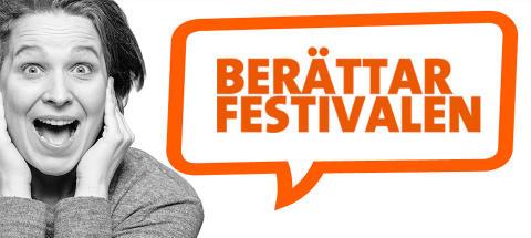 Berättarfestivalen i Skellefteå invigs med berättarkonst, bild, musik och akrobatik