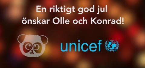 UNICEF väljer youtubers från United Screens för att lyfta sin gåvoshop i jul