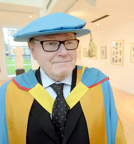 Norwegian artist honoured by Northumbria University