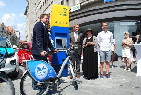 Einzigartiges Mobilitätskonzept verbindet Leipziger Stadtgebiete