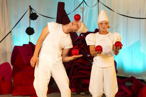 Claire Parsons verk Marmelad visas på NorrlandsOperan 6 september 2014.