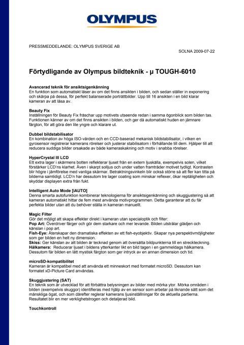 Olympus Bildteknik µ TOUGH-6010_Bilaga.pdf
