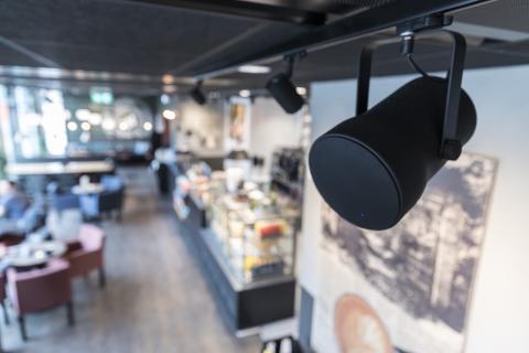 Bättre ljud – bättre affärer med Audio Pro Business trådlösa högtalare