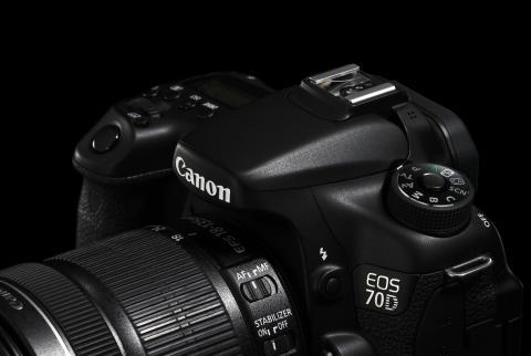 Canon EOS 70D detalj
