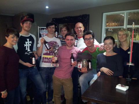 The Sun Inn retains the Team Challenge Trophy!