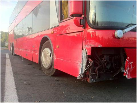 The Cult i våldsam bussolycka!