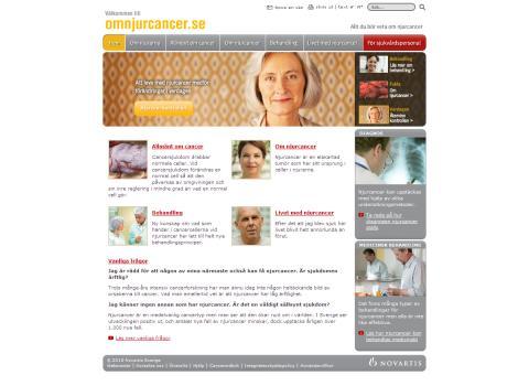 Ny webbplats om njurcancer – hjälp för tidig upptäckt