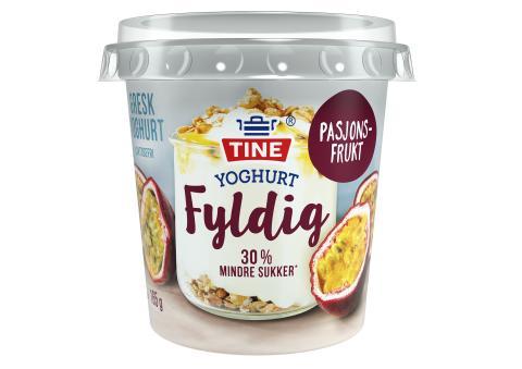 TINE Yoghurt Fyldig Pasjonsfrukt