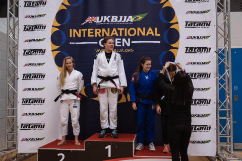 Women Black Belt Medallists