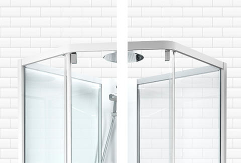 IDO Showerama 10-5 -suihkukaappi