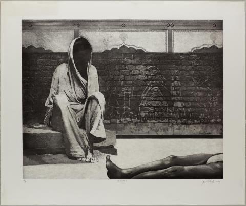 Anupam Sud, Of Walls 7/8, 1982. Foto: TKM/ Uta Freia Beer